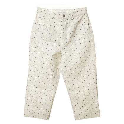 Marc Cain Dotted high-waist pants