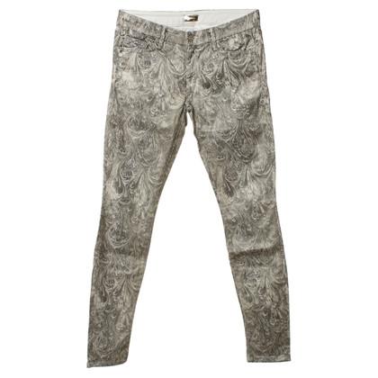 Mother Jeans avec des motifs