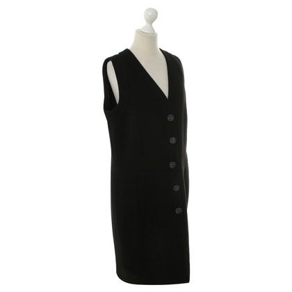 Chanel Ärmelloses Kleid in Schwarz