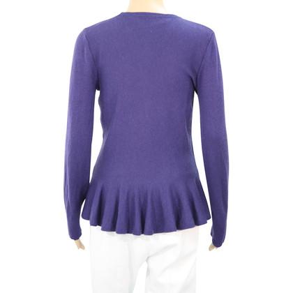 Hobbs maglioni di lana in blu scuro