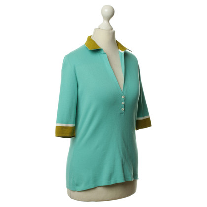 Loro Piana Cotton shirt in turquoise