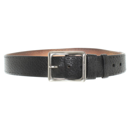 Prada Leather Belt zwart