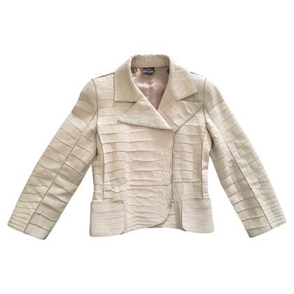 Fendi Jacket made of crocodile leather