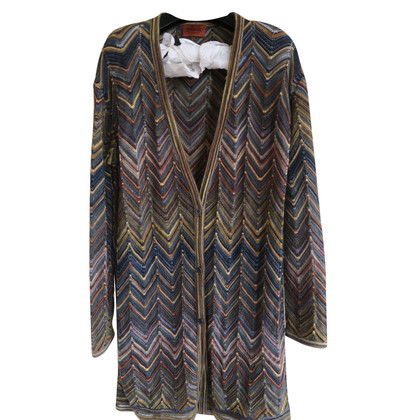 Missoni uncinetto cardi-coat