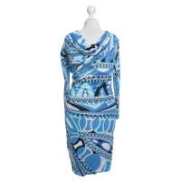 Emilio Pucci Dress in blue tones