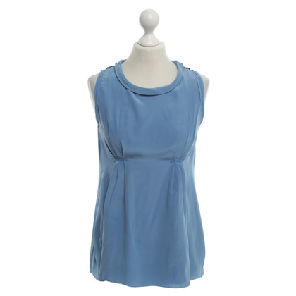 Dorothee Schumacher Maniche Top in Royal Blue