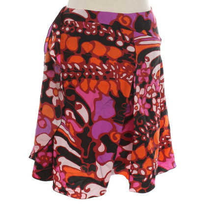 Marni Silk skirt with pattern