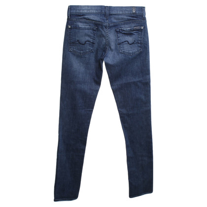 """7 For All Mankind Jeans """"Roxanne"""" in blue"""