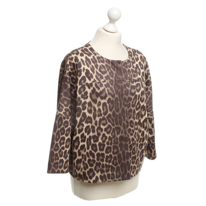 Laurèl Jacke mit Animal-Print