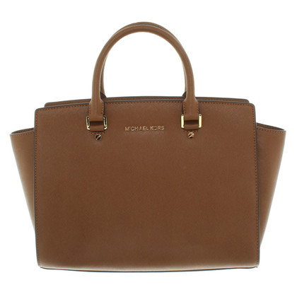 "Michael Kors ""Selma Tote"" a Brown"