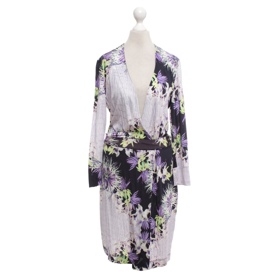 Just Cavalli Wrap dress with pattern