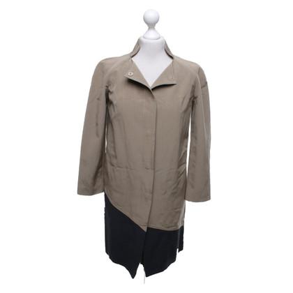 Fendi Coat in beige / black
