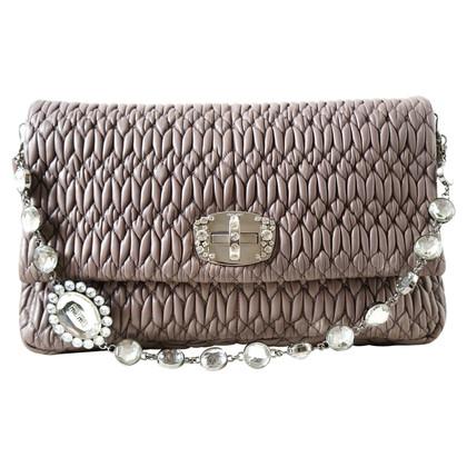 Miu Miu Flap Bag with gemstones