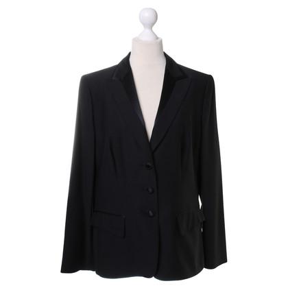 Rena Lange Black jacket with satin lapel