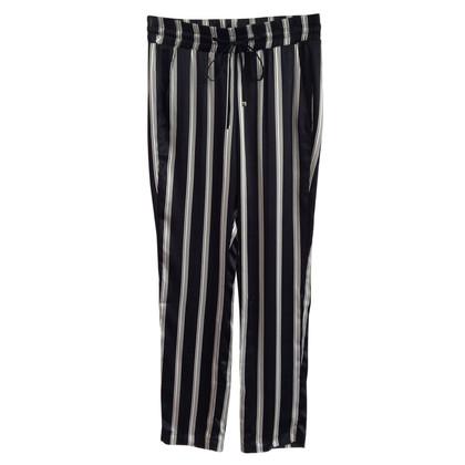 Dondup pantalons de soie