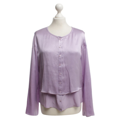 Strenesse Blue Silk blouse in purple