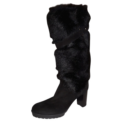 Gianvito Rossi Boots with fur