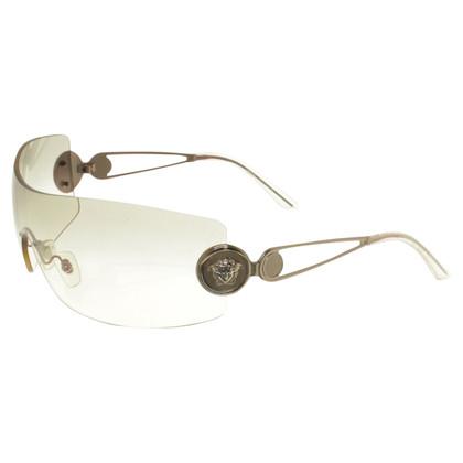 Versace Occhiali da sole con una sottile occhiali tinta