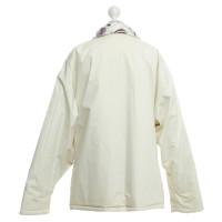 Hermès Jacke in Creme