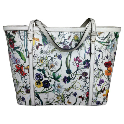 Gucci Shopper grande flora