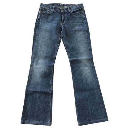 7 For All Mankind Jeans im Used-Look