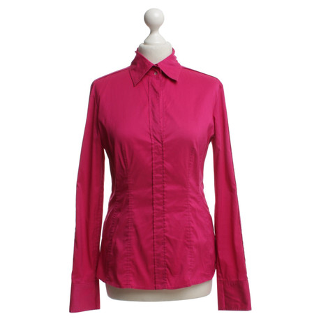 Hugo Boss Bluse in Pink Rosa / Pink