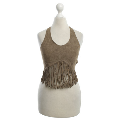 DKNY Top made of suede