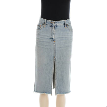 Dolce & Gabbana MIDI length denim skirt