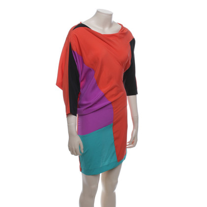 Etro Colorful silk dress