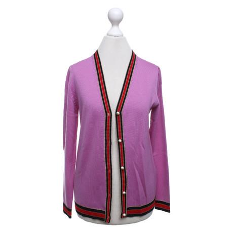 f41ba05f71539e ... Gucci Strickjacke in Lila Violett Empfehlen Rabatt Online-Bilder  Verkauf Qualität Outlet-Store fUIFl ...
