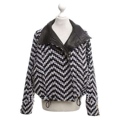 Balmain Jacket in zwart / White