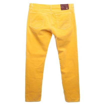 Ralph Lauren Corduroy trousers in yellow