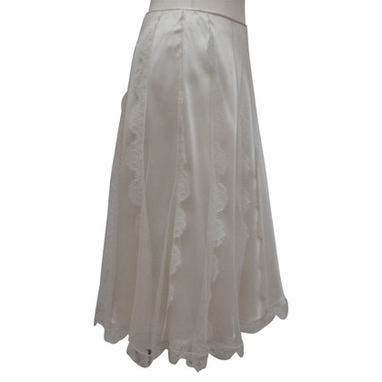 Christian Dior skirt in cream