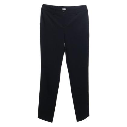 Chanel Uniform Pantalon en bleu foncé