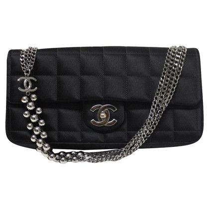 Chanel raso di seta Flap Bag