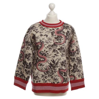 Gucci Sweatshirt mit Muster