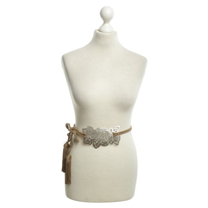 Valentino Belt with floral metal detail