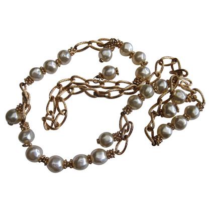 Christian Dior Baroque pearl necklace