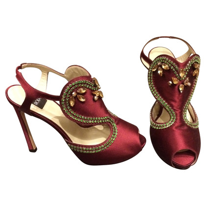 Other Designer RODO - Sandals made of Silk Satin