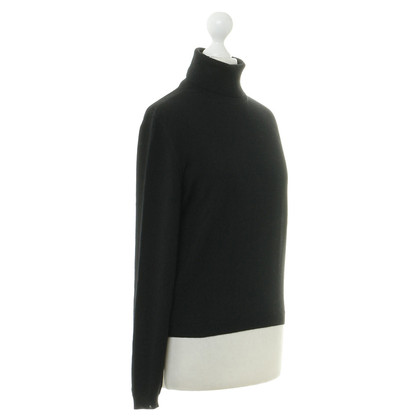 Jil Sander Turtleneck Sweater in black