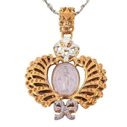 Dolce & Gabbana Necklace with Maria Heart pendant