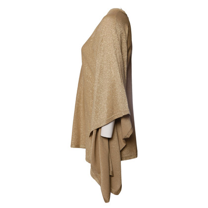 Michael Kors Poncho en tricot couleur or