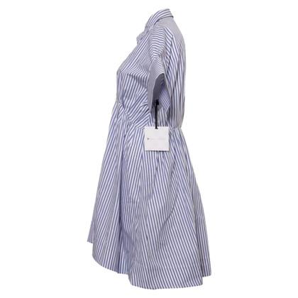 Victoria Beckham Target - Striped shirtblouse dress