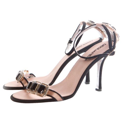 c568d102abdc6 Dsquared2 Sandals with black stones - Second Hand Dsquared2 Sandals ...