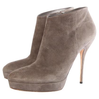 Gucci Ankle Boots aus Wildleder