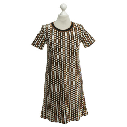 Prada Dress in brown / white