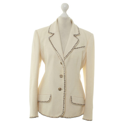 Chanel Blazer in crema