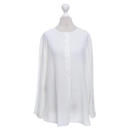 Sport Max blouse en soie crème