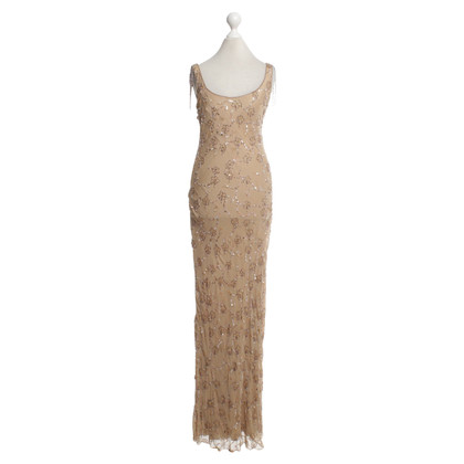 Jenny Packham Robe avec garniture en strass