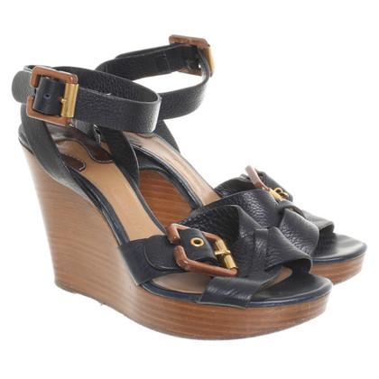Chloé Sandalen in donkerblauw